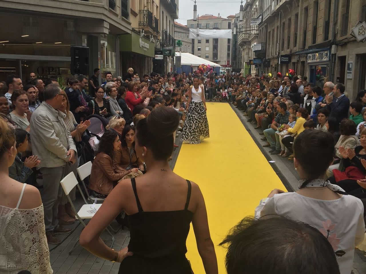 Organización de desfile de moda en Pontevedra