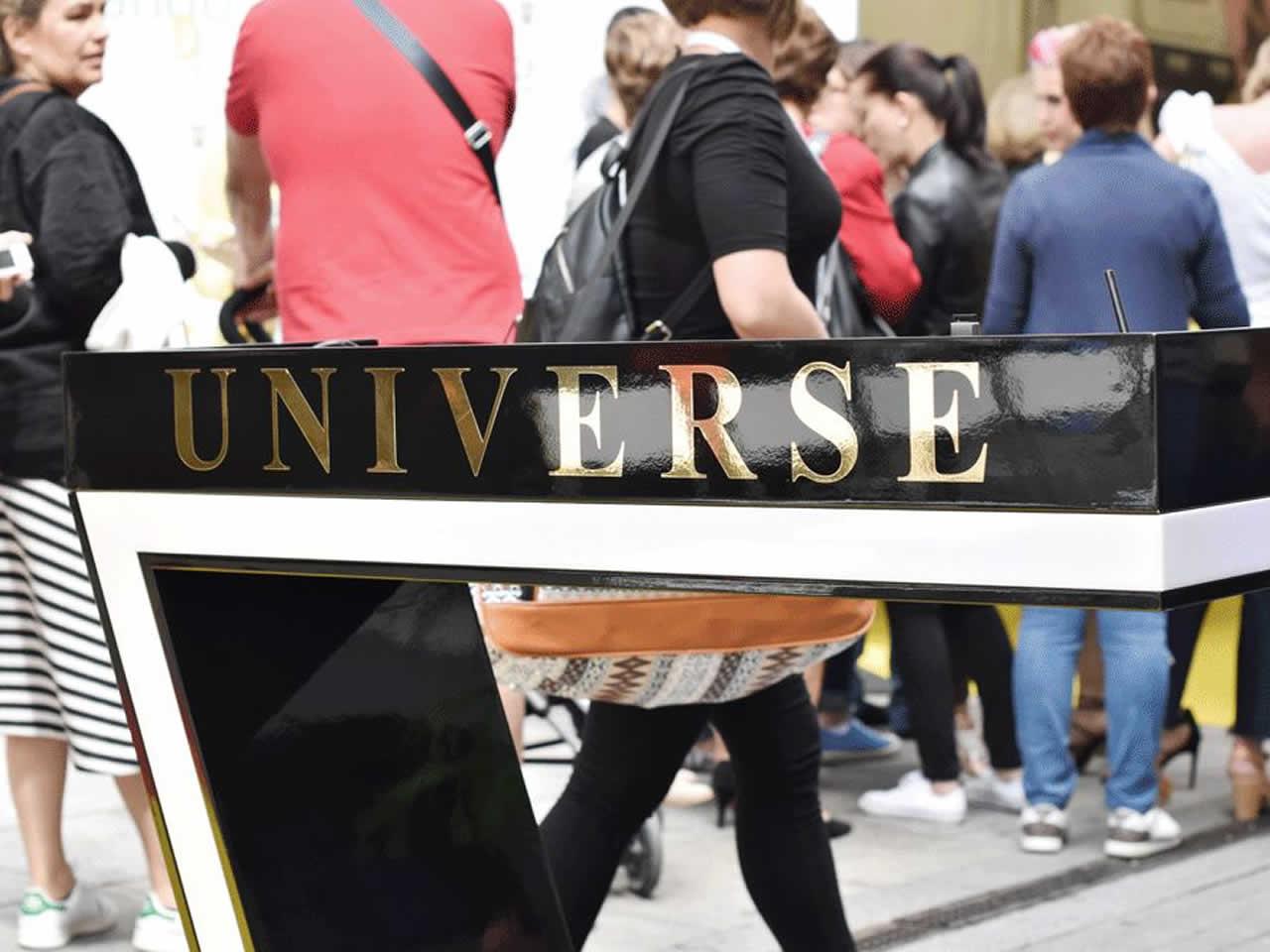 Organización de Inauguración de comercio Universe